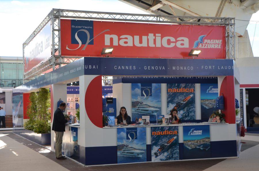 Allestimento Stand-Nautica Editrice Fiera Salone Nautico
