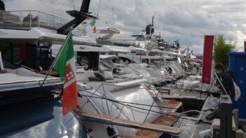 Salone Nautico 2020 barche in banchina
