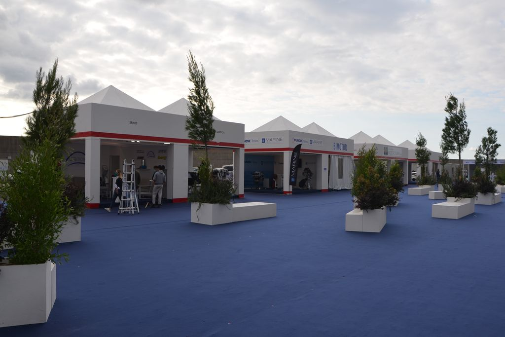 Stand Power Village - Salone Nautico 2020 generale